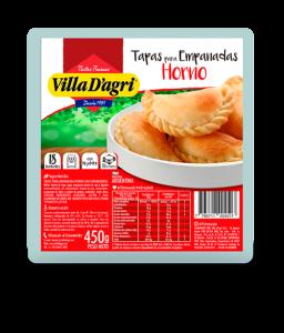 Oven baked empanada discs