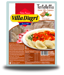 Tortellettis beef, chicken and spinach