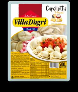 Capellettis con 4 quesos